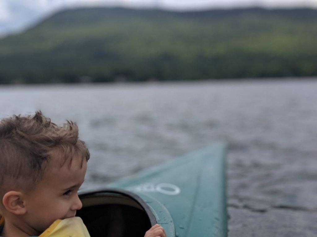 Rowan Kayaking in Vermont